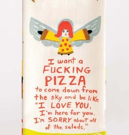 BlueQ Fucking Pizza - Dish Towel