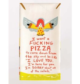 BlueQ Fucking Pizza - Dish Towel