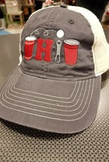 Bink Davies Pong Ohio Hat - Charcoal/White