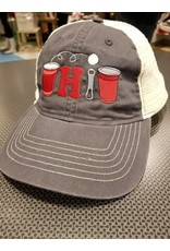 Pong Ohio Hat - Charcoal/White