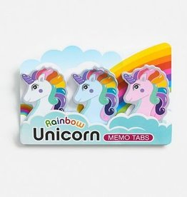 Streamline Rainbow Unicorn Memo Tab Set