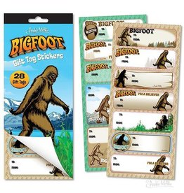 Bigfoot Gift Tags / S