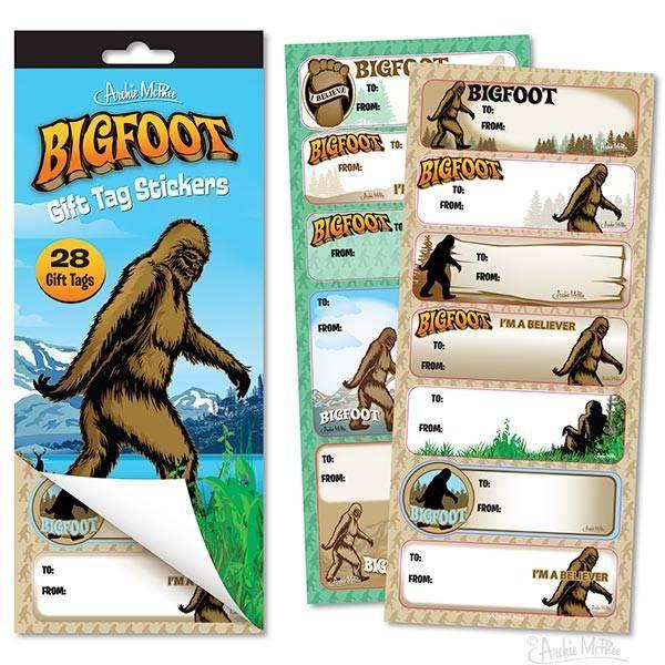 Bigfoot Gift Tags / S