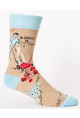 BlueQ Killin' It  Men's Crew Socks
