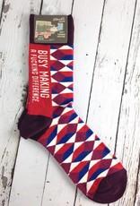 BlueQ Making A Difference Men's Crew Socks