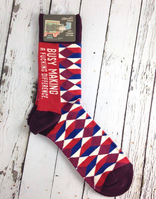 Making A Difference Men's Crew Socks