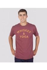Headline Shirts Whiskey & Yoga Unisex T-Shirt