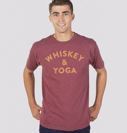 Headline Shirts Whiskey & Yoga Unisex T-Shirt