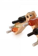 Grommet Rackpack - Wine Bottle Carrier and Rack