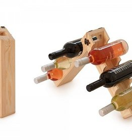 Grommet Rackpack - Wine Bottle Carrier and Rack