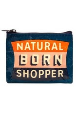 Natural Born Shopper Coin Purse DNR