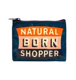 Natural Born Shopper Coin Purse DNR