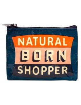 BlueQ Natural Born Shopper Coin Purse