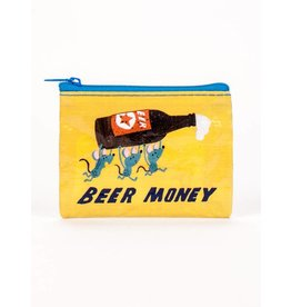 BlueQ Beer Money Coin Purse