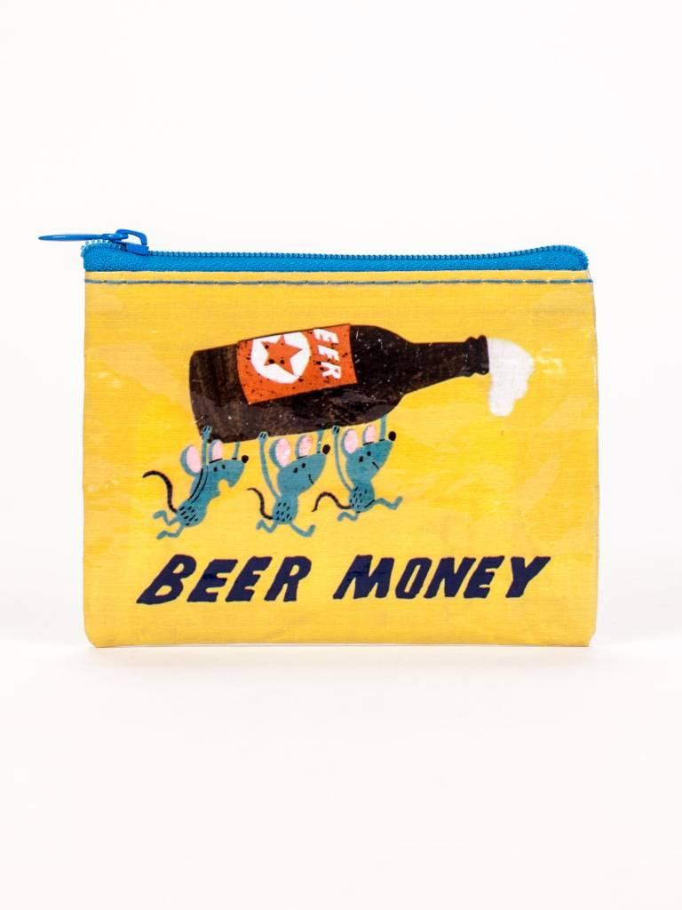 BlueQ Beer Money Coin Purse