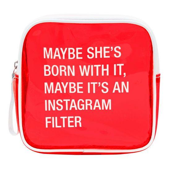 Instagram Filter Cosmetic Bag