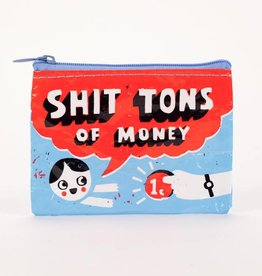 BlueQ Shit Tons of Money Coin Purse