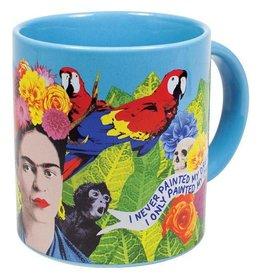 Unemployed Philosopher Frida Kahlo Mug / S