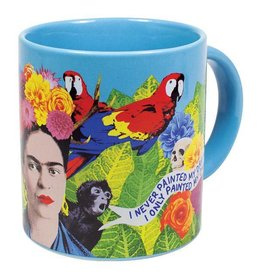 Unemployed Philosopher Frida Kahlo Mug / S