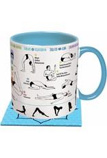Unemployed Philosopher How to Yoga Mug / S