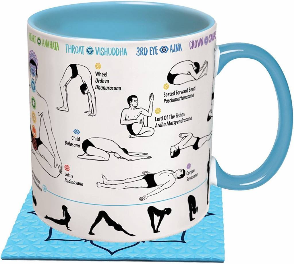 Unemployed Philosopher How to Yoga Mug