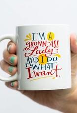 Emily Mcdowell I'm A Grown Ass Lady Mug