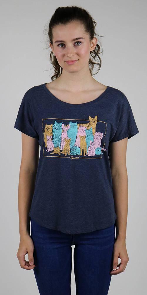 Choke Squad Vintage Dolman T-Shirt