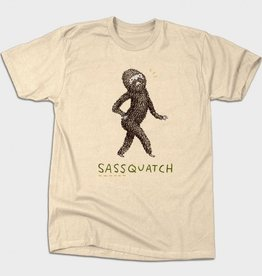 BustedTees Sassquatch Unisex T-Shirt