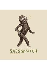 BustedTees Sassquatch Unisex T-Shirt