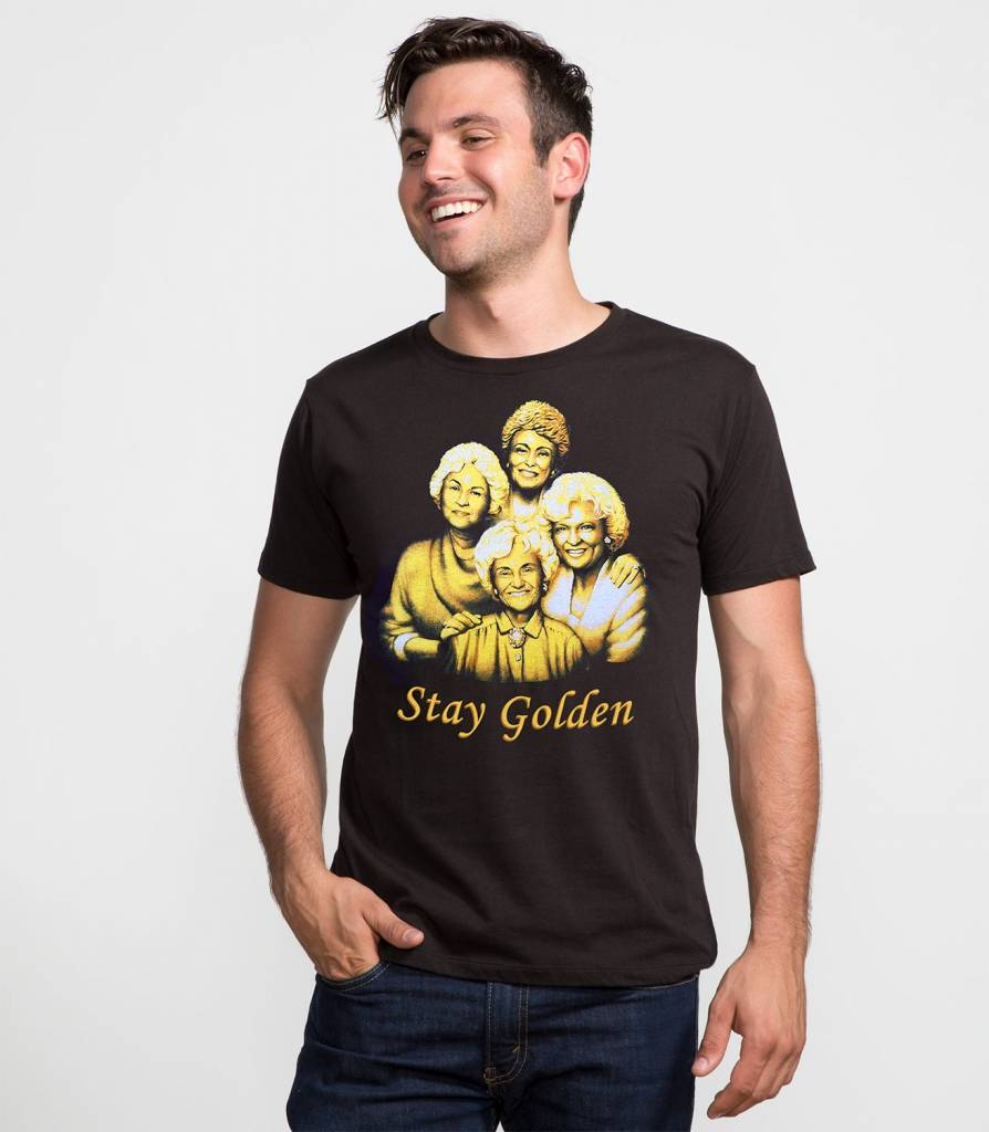 Headline Shirts Stay Golden Unisex T-Shirt