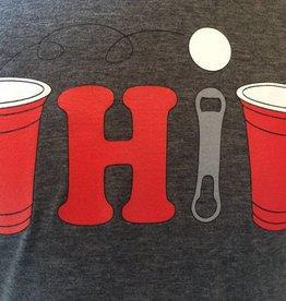 Bink Davies Pong Ohio Crew Neck Unisex T-Shirt