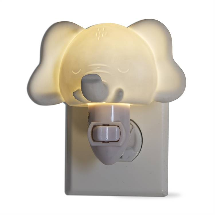 tag* White Elephant - LED Plug In Nightlight