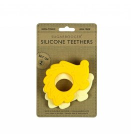 ORE Silicone Teether Set of 2 - Hedgehog