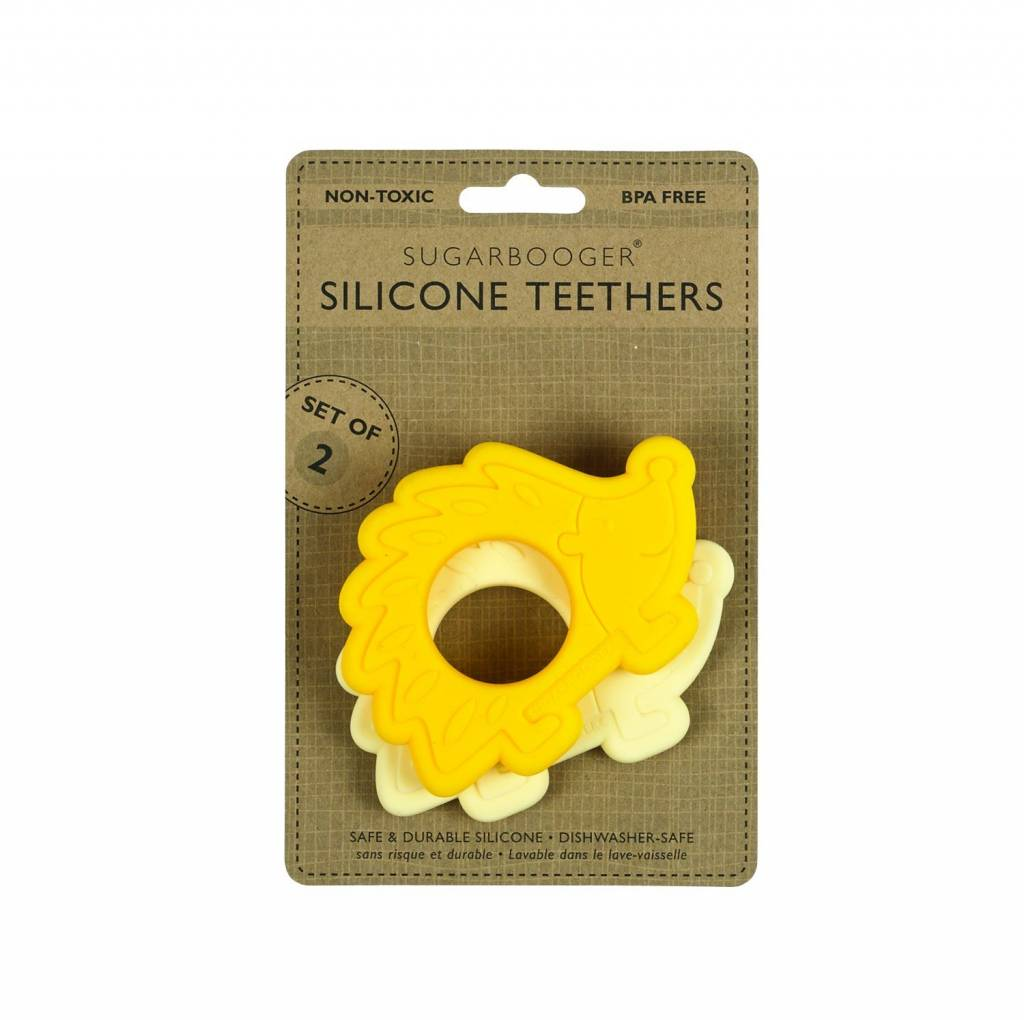ORE Hedgehog -  Silicone Teether Set of 2