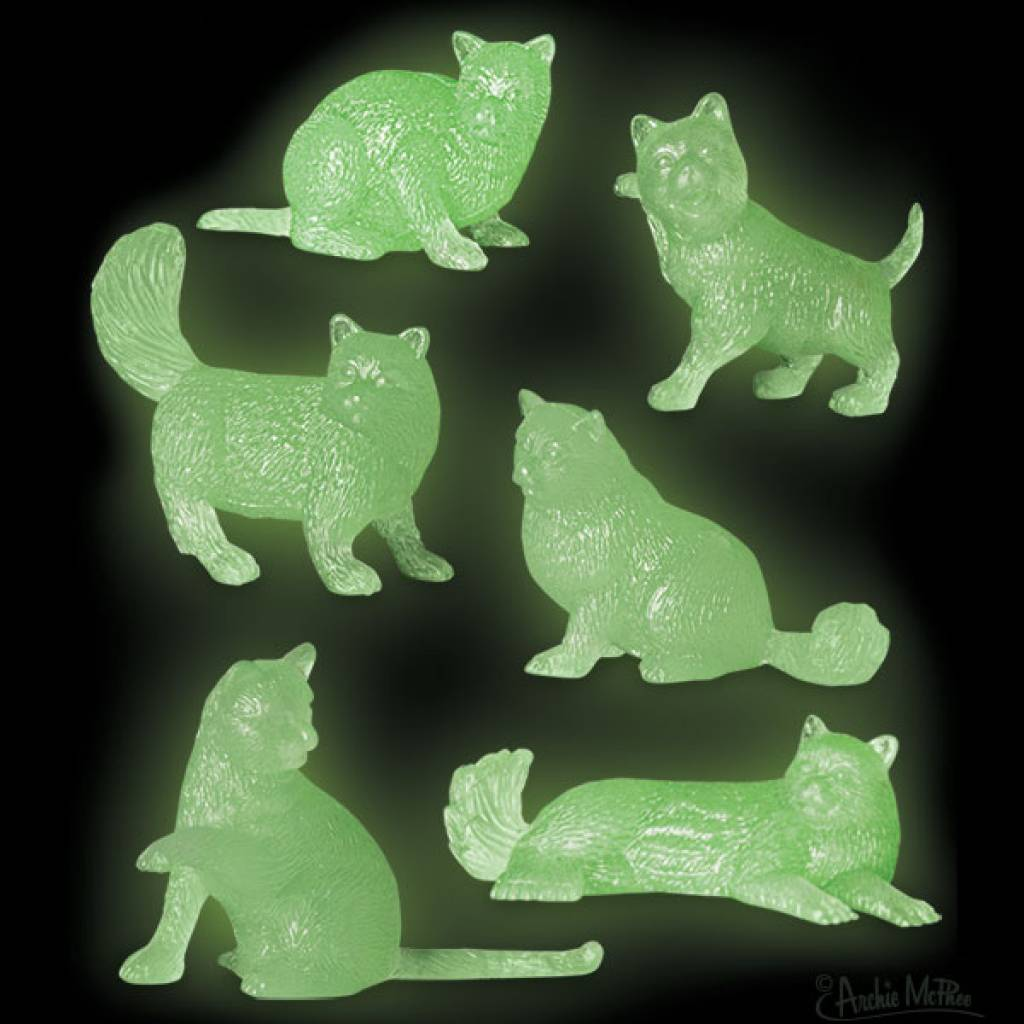 Accoutrements Glow Cats