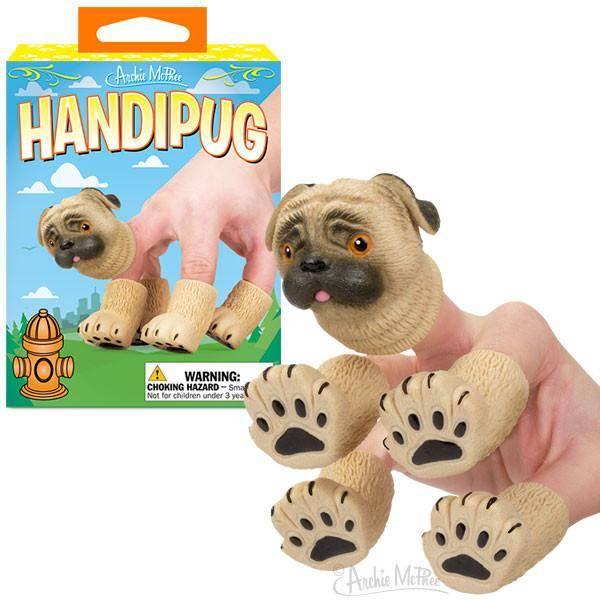 accoutrements handipug finger puppets bink davies easton