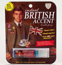 BlueQ British Accent Breath Spray