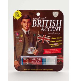 BlueQ British Accent Breath Spray DNR