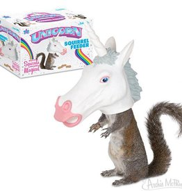Accoutrements Unicorn - Big Head Squirrel Feeder