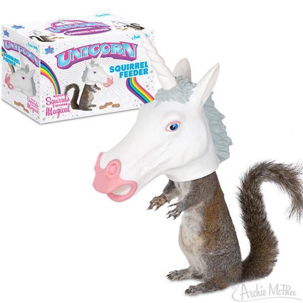 Unicorn - Big Head Squirrel Feeder DNR