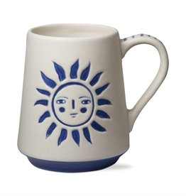 tag Sun God - Blue/ White Mug