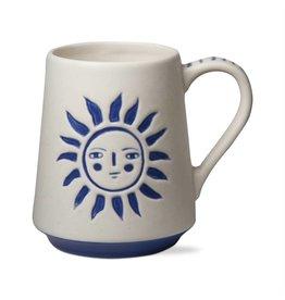 tag* Sun God - Blue/ White Mug