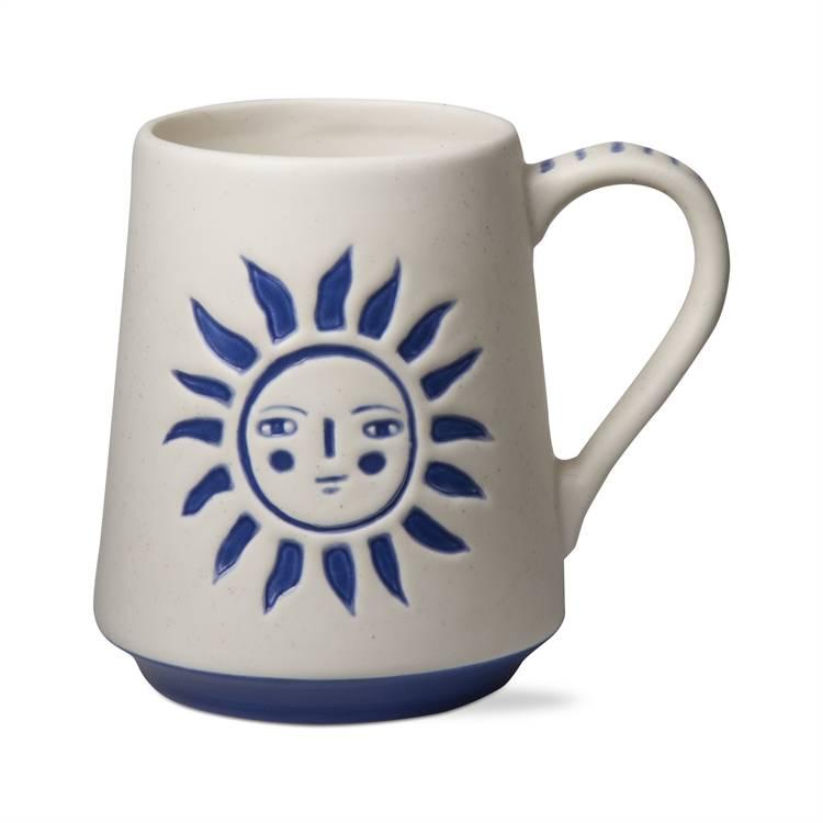 tag* Sun God - Blue/ White Mug DNR