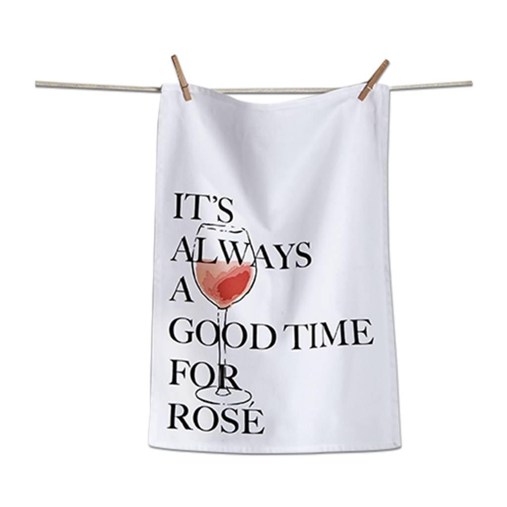 tag* Good Time For Rose - Dishtowel DNR