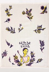 BlueQ Get the Hell Out - Dish Towel