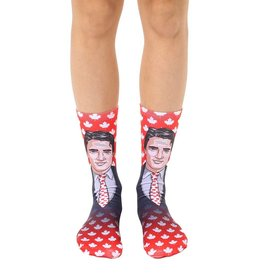 Living Royal Justin Trudeau Crew Sock