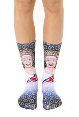 Living Royal Queen Elizabeth Crew Sock