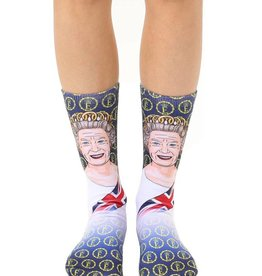 Living Royal Queen Elizabeth Crew Sock