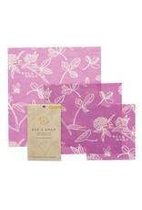 Bee's Wrap Set of 3 Assorted - Mimi's Purple