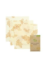 Bees Wrap* Bee's Wrap 3-Pack Medium